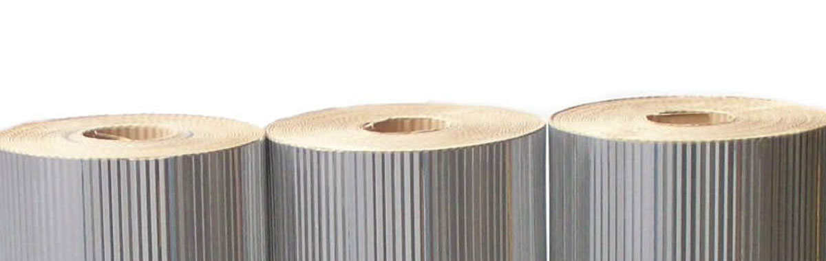 Alumínio Corrugado com Barreira