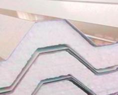 Núcleo de Telhas de EPS